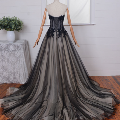Strapless Sweetheart Ball Gown Prom..