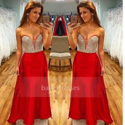 Prom Dresses,Red Prom Dresses,Long ..