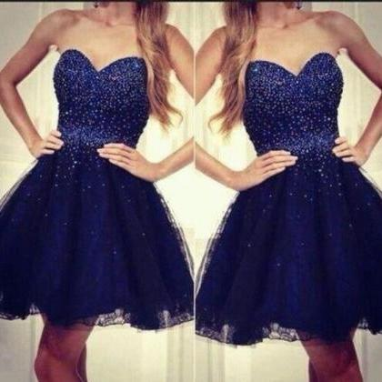 Homecoming Dress,Short Prom Dress,S..