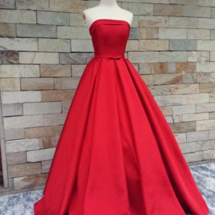 Red Prom Dresses,Simple Prom Dress,..