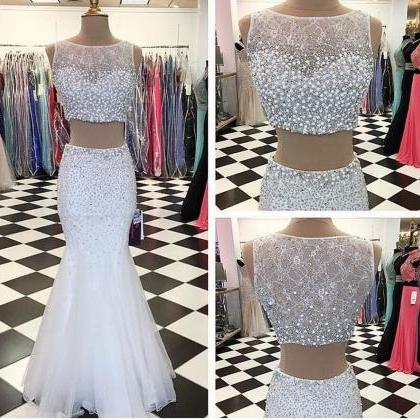 Sexy Prom Dresses,2 pieces Evening ..