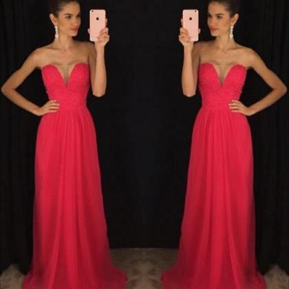 Red Prom Dresses,Evening Dress,Prom..