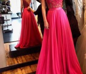 Long Prom Dress,Back..