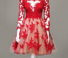 Real Made Red Lace O..