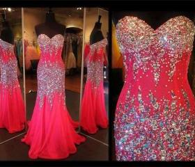 RED Prom Dress,Party..