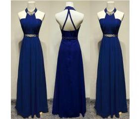 Prom Gown,Royal Blue..