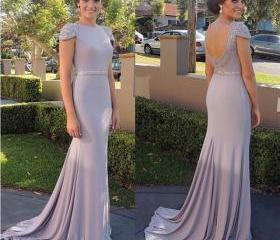 Modest Prom Dress,Be..