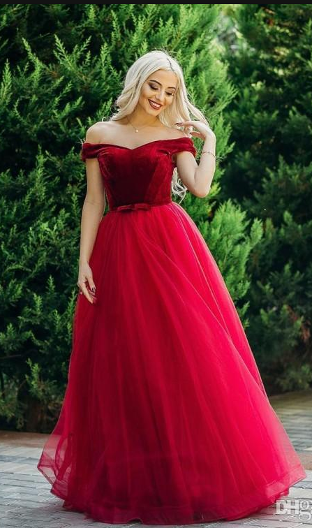 Sexy Plus Size Long Formal Prom Dress Ball Gowns Arabic Prom Dresses