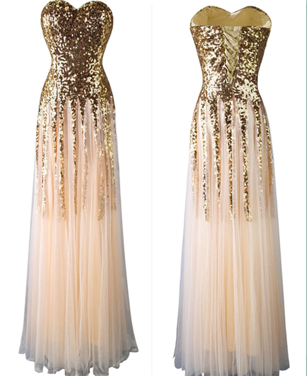 New Arrival Beading Charming Prom Dresses,The Elegant Sweetheart Floor-Length Evening Dresses, Prom Dresses, Real Made Prom Dresses On Sale