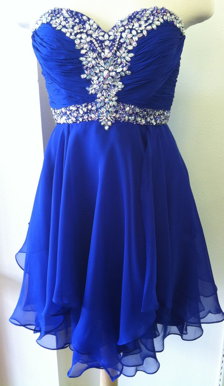 ec022c60f0a Royal Blue Short Prom Dresses