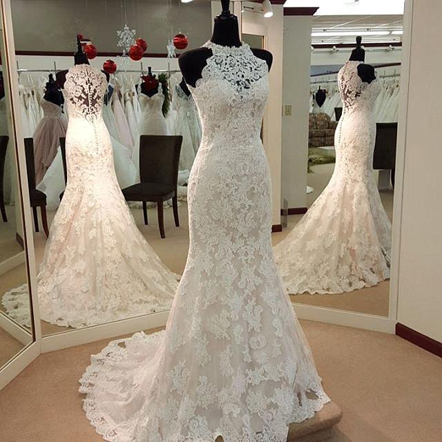 Wedding Dresses, Wedding Gown,Lace Wedding Gowns,Mermaid Bridal ...