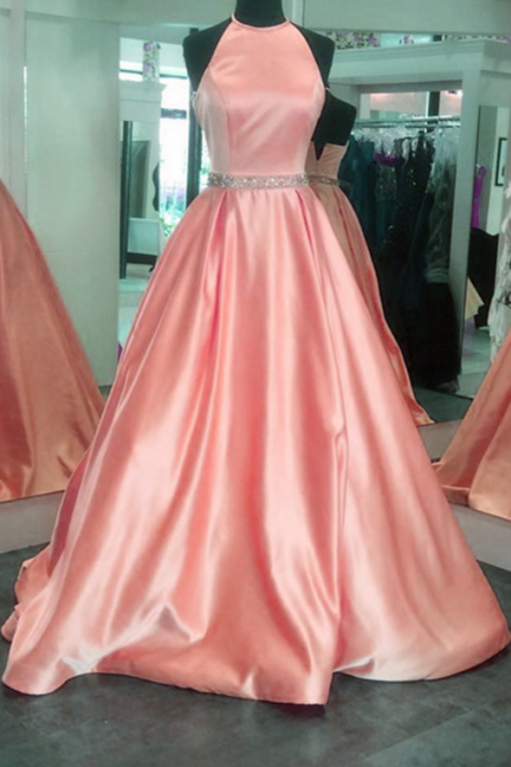 ball gowns,halter prom dress,ball gowns prom dress,elegant prom dress,prom dresses