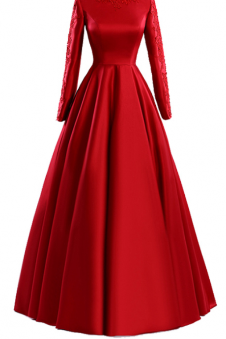 Real photo red gloves are elegant evening gowns in lace and a flooring online movie evening dress