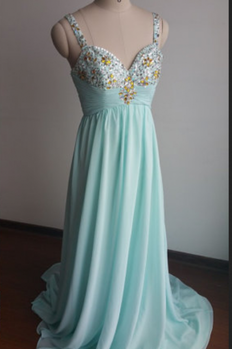 Long Chiffon Prom Dresses, Party Dresses, Party Dresses Floor Length Party Dresses