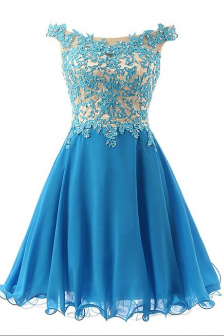 Royal Blue Two Piece Prom Dress,Long Prom Dress,Evening Dress On Sale,Formal Dress,