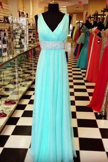 BLUE Evening Dresses PROM DRESSES
