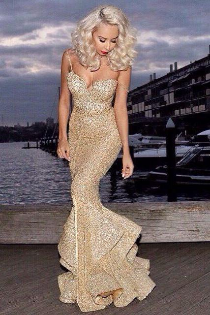 Prom Dress,Luxury Prom Dress,Sexy Prom Dress,Gorgeous Prom Dress,Bling Prom Dress,Mermaid Prom Dress,Beaded Prom Dress,Unique Prom Dress,Long Prom Dress,Handmade Prom Dress,Custom Prom Dress,Dress For Prom
