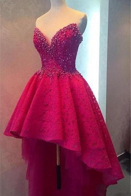 DeSweetheart 2016 Myriam Fares Dresses Evening Off Shoulder Evening Dresses Open Back Hi-Lo Beading Wear Prom Pageant Formal Party Dress Gown
