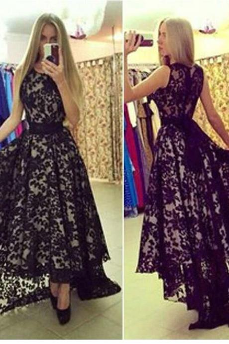 Lace Prom Dresses Floor Length PROM DRESSES EVENING DRESSES LACE PARTY DRESSES