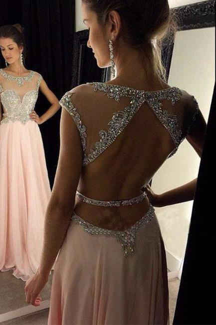 Charming Prom Dress,V-Neck Prom Dress,Beading Prom Dress,Satin Prom Dress,Mermaid Evening DressUnique long prom dress 2016, sequin long pink prom dress for teens, elegant long evening dress, plus size prom dress