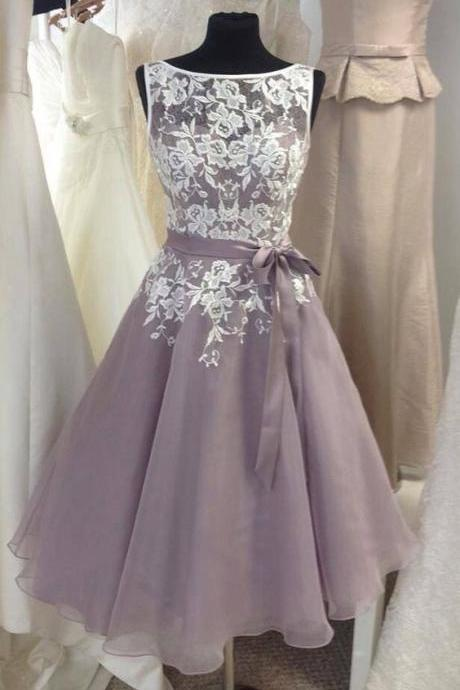 Short Bridesmaid Dress, Lace Bridesmaid Dress, Lace Prom Dress, Short Prom Dress, Homecoming Dress