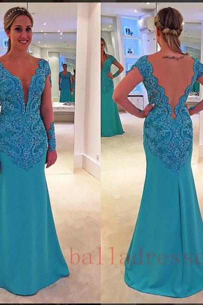 Lace Prom Dresses,Evening Dresses,New Fashion Prom Gowns,Elegant Prom Dress,Lace Prom Dresses,Chiffon Evening Gowns,Formal Dress
