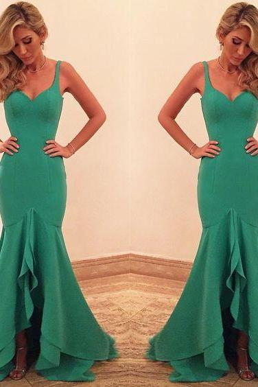 Prom Dresses,Green Prom Gowns,Green Prom Dresses, Party Dresses 2017,Long Prom Gown,Prom Dress,Evening Gown,Party Gown