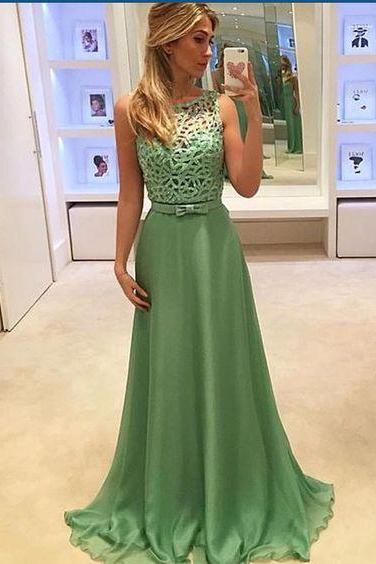 Prom Dresses,Green Prom Gowns,Green Prom Dresses, Party Dresses,Long Prom Gown,Prom Dress,Evening Gown,Party Gown