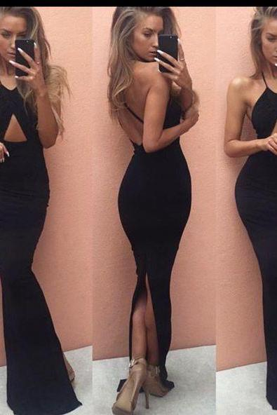 New Arrival Prom Dress,Chic prom dress,stylish black mermaid long prom dresses,formal dress,party gown