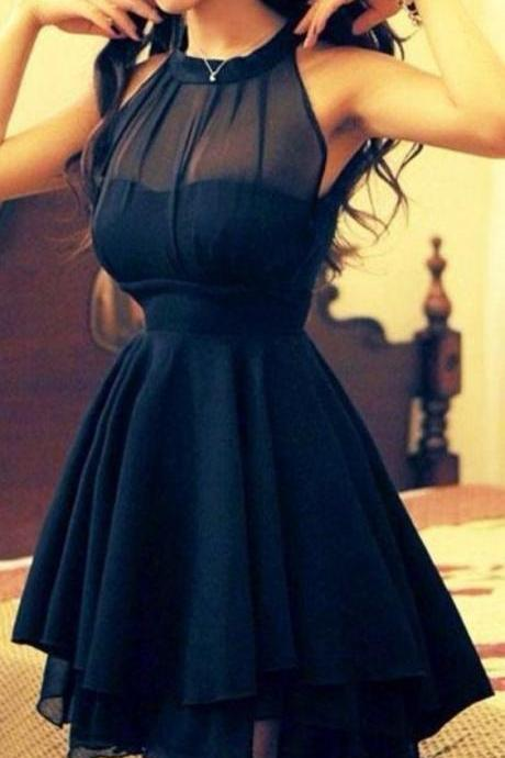 Halter Prom Dress,Bodice Prom Dress,Mini Prom Dress,Fashion Prom Dress,Sexy Party Dress, 2017 New Evening Dress,homecoming dresses