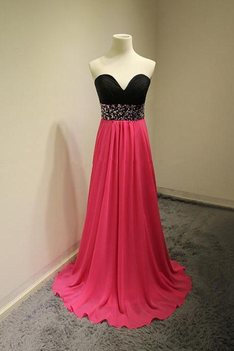 Sweetheart Lace Beading Handmade Open Back Prom Dresses,Evening Dresses,Long Prom Dress