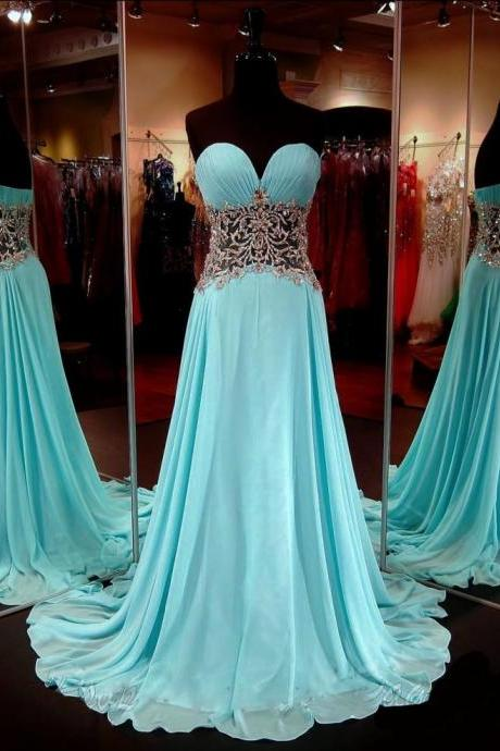 Blue Prom Dresses,A-Line Prom Dress,Sparkle Prom Dress,Strapless Prom Dress,Chiffon Prom Dress,Simple Evening Gowns,Sparkly Party Dress,Elegant Prom Dresses,Formal Gowns For Teens