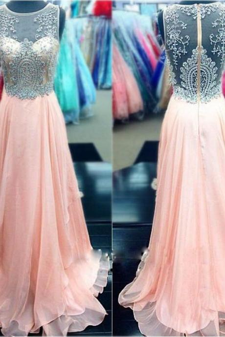 Prom Dresses,Pink Chiffon Prom Dresses,Prom Dresses 2017,A-line Prom Dresses,Chiffon Prom Dresses,Cheap Prom Dresses,Long Appliques Prom Dresses,Pink Party Dresses,Prom Dresses Long,Sexy Prom Dresses,Prom Dresses for Girls,Sexy Party Dresses
