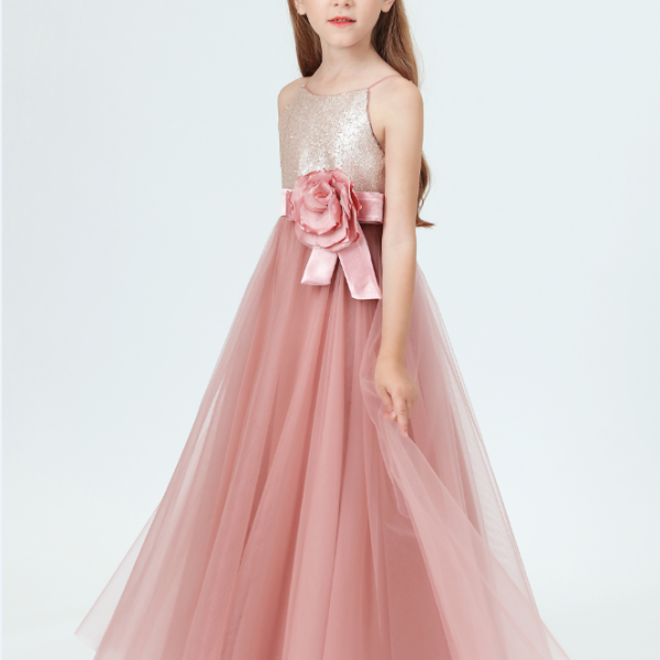 flower girl dresses, Tulle Flower Girl Dress Party Appliques Long Sleeve For Wedding Birthday Ball Gown First Holy Communion Prom Dresses