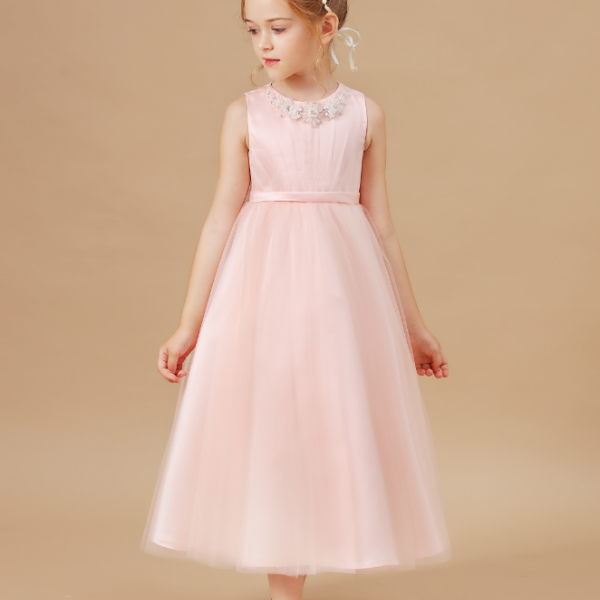 flower girl dresses,Kid Dress For Girl Birthday Christmas Clothes Party Costume Children Wedding Party Prom Princess Kids Baby Banquet Clothes