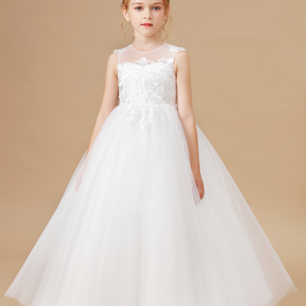 flower girl dresses,Princess Flower Girl Dress Wedding Birthday Party Kids Dresses For Girls Children's Costume Teenager Prom Designs Kids Dress
