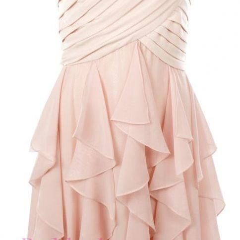 Blush Pink Homecoming Dress,Homecoming Dresses,Homecoming Gowns,Prom Gown,Blush Pink Sweet 16 Dress,Homecoming Dress,Cocktail Dress,Evening Gowns